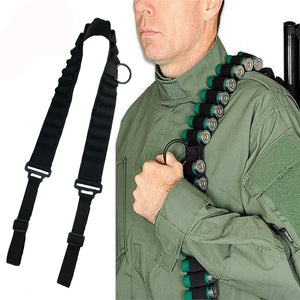 RECON Shotgun Sling and shot gun shell carrier in one