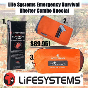 Lifesystems Survival Shelter Kit Combo
