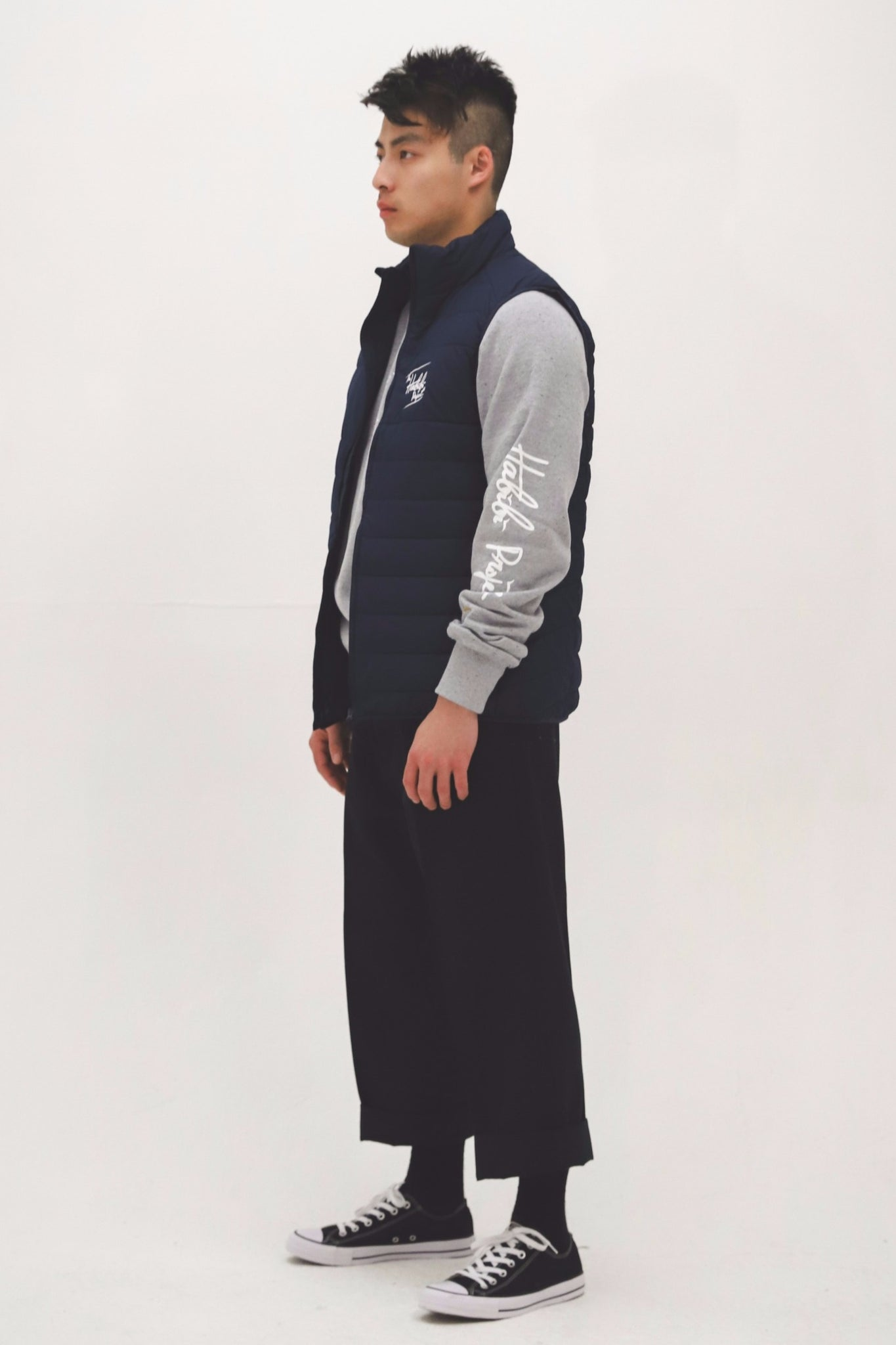 Habibi Project Gilet [Navy]