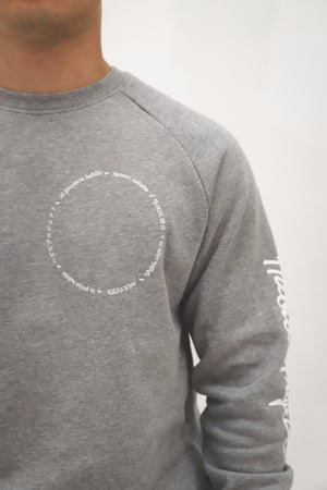 International Habibi Project Sweater Unisex [Grey]