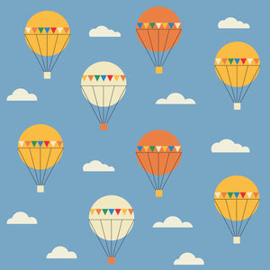 Fly Balloons Print