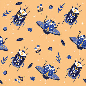 Beetles Print By Alba Sáez