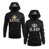 Image of Black - King & Queen Hoodies