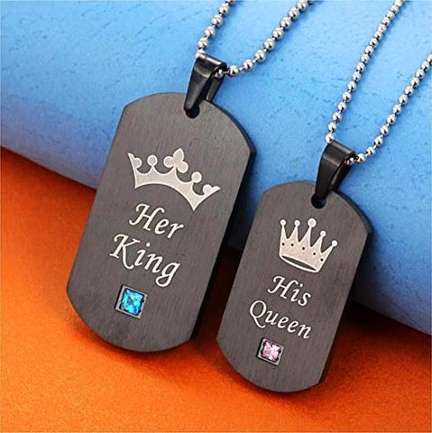 'King & Queen' Tags