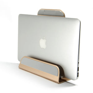 2 In 1 Function Aluminum Alloy Macbook Laptop Stand