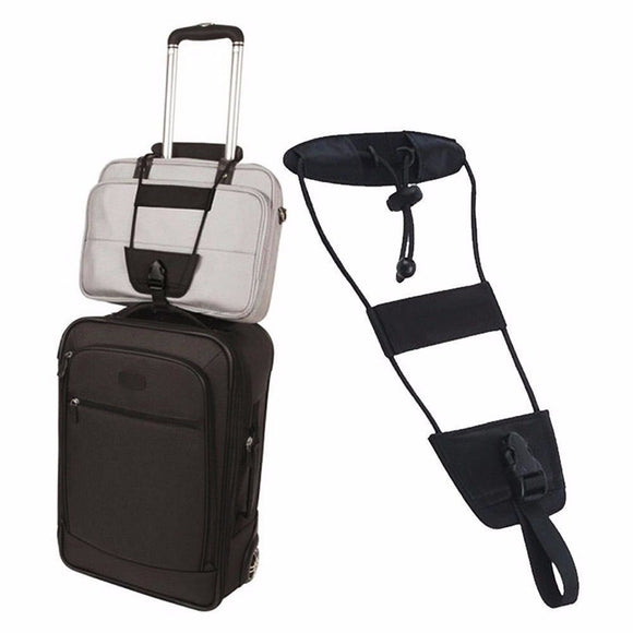 Bag Strap Storage for Travel Luggage