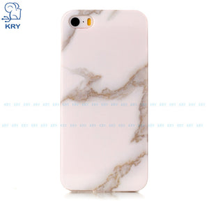 Marble Silicone Case IPhone 5