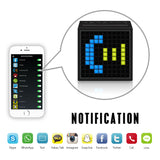 Smart Alarm Clock + Portable Speakers (Bluetooth 4.0 Compatible)