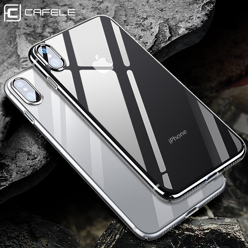 finest selection 5aeec ce47c iPhone X Crystal Clear Case for iPhone 10 [Support Wireless Charging]