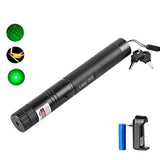 Military Grade Green Laser ( includes 18650 Battery + Charger / Keys)
