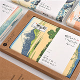 White Wave Japanese Style Notebook