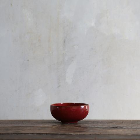 RO Bowl No.8 Oxblood Red