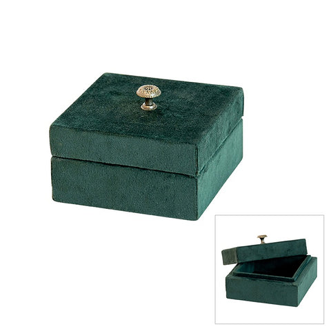 velvet green jewel box