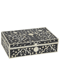 Moghul Flower bone inlay box