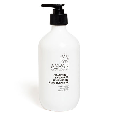 Aspar Grapefruit & Seaweed Revitalising Body Cleanser