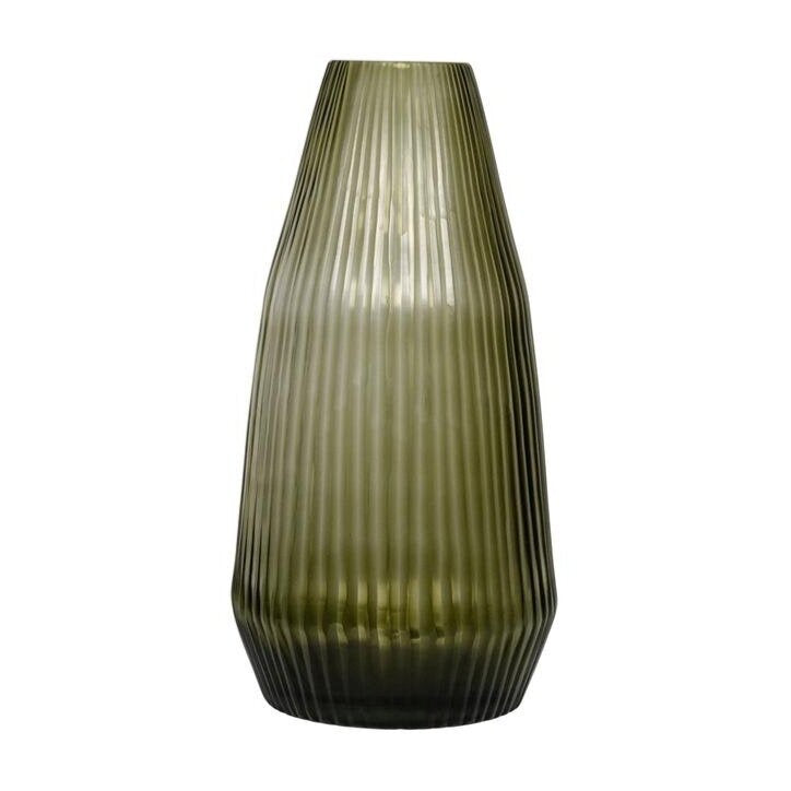 Brian Tunks Conical Vase Olive