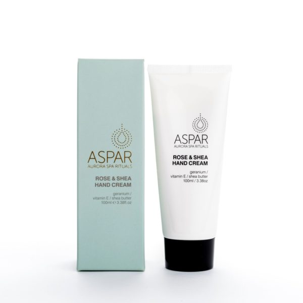 Aspar Sweet Rose & Shea Hand Cream