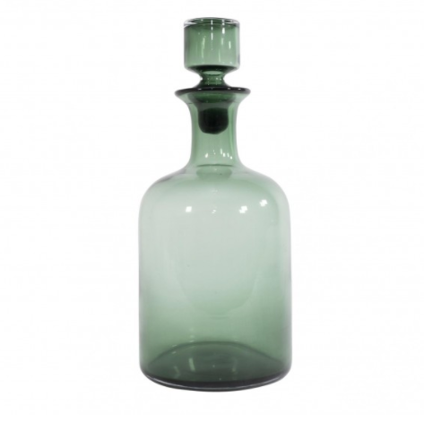 moscow green bottle stop vase