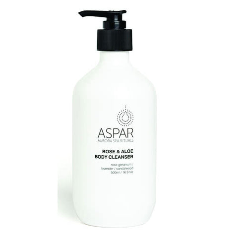 Aspar Rose & Aloe Relaxing Body Cleanser