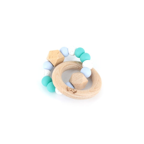 Lluie Hexx teething rattle