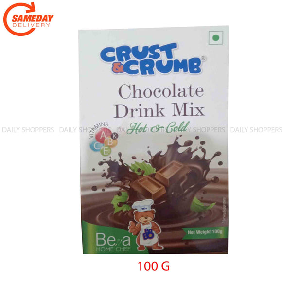Crust and Crumb Chocolate Drink Mix - 100g