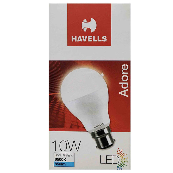 HAVELLS 10 W LED BULB COOL DAYLIGHT(WHITE)