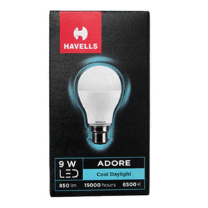 HAVELLS 9 W LED BULB COOL DAYLIGHT(WHITE)