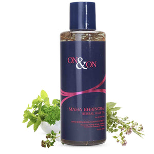 On & On Maha Bhringraj Herbal Hair Oil 200 ml