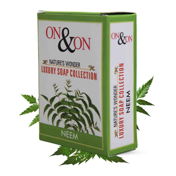 On & On Natures Luxury Neem Soap 75 gms
