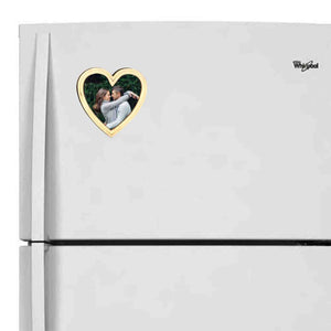 Personalized Fridge Magnet - Heart