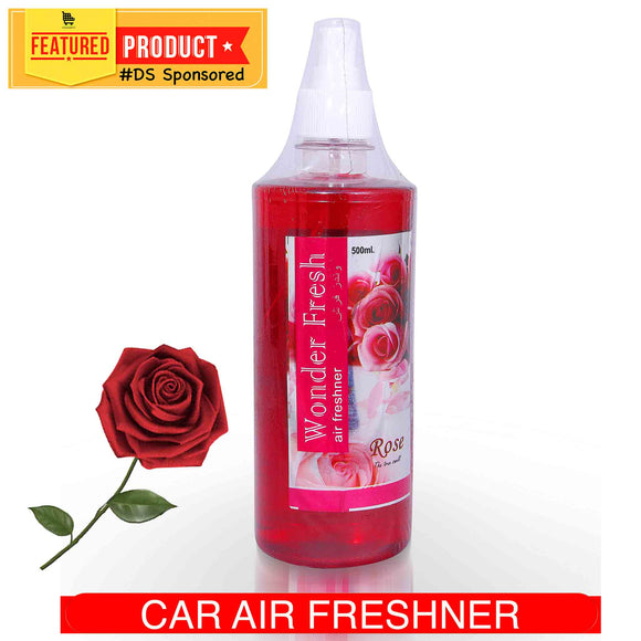 Rose Car Air Freshener