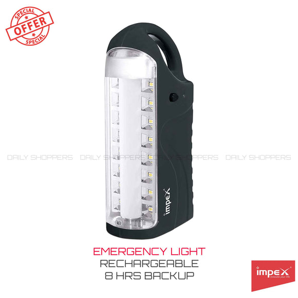 Impex IL-690 Rechargeable LED Lantern (Grey)