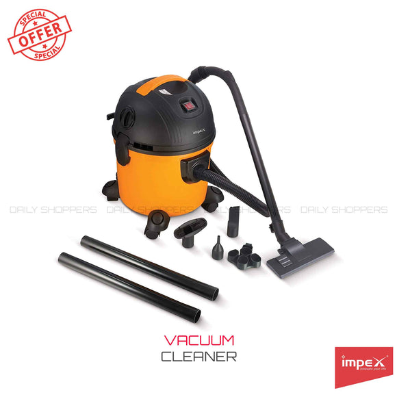 Impex VC-4703 Multi-Purpose Wet & Dry Vacuum Cleaner (1000 Watts,Yellow & Black)