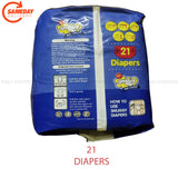 Snuggy Baby Diaper for New Born Baby-2-5 KG 21's Pack