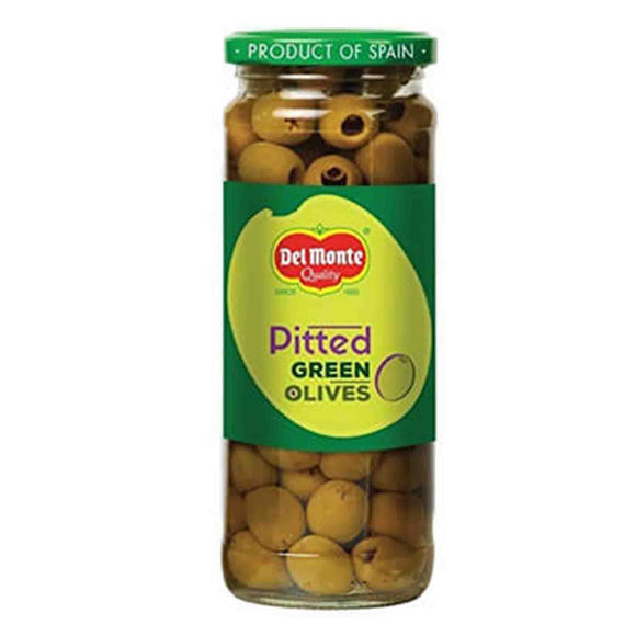 Del monte Pitted Green Olives 235g