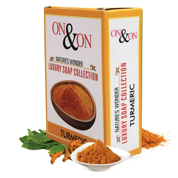 On & On Natures Luxury Turmeric Soap 75 gms
