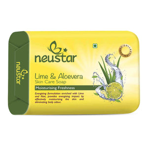 Lime And Aloe Vera 100 gms