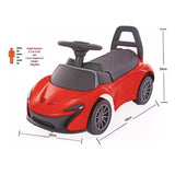 Toyhouse Push for fun Car Non Battery Operated Ride On  (Red)