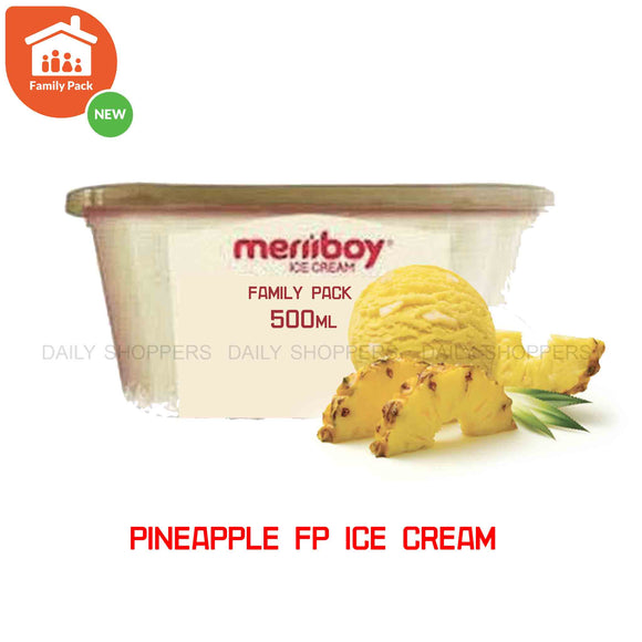 Meriiboy Family Pack Pineapple - 500 ml