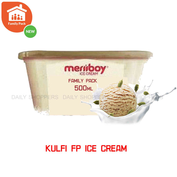 Meriiboy Family Pack Kulfi - 500 ml
