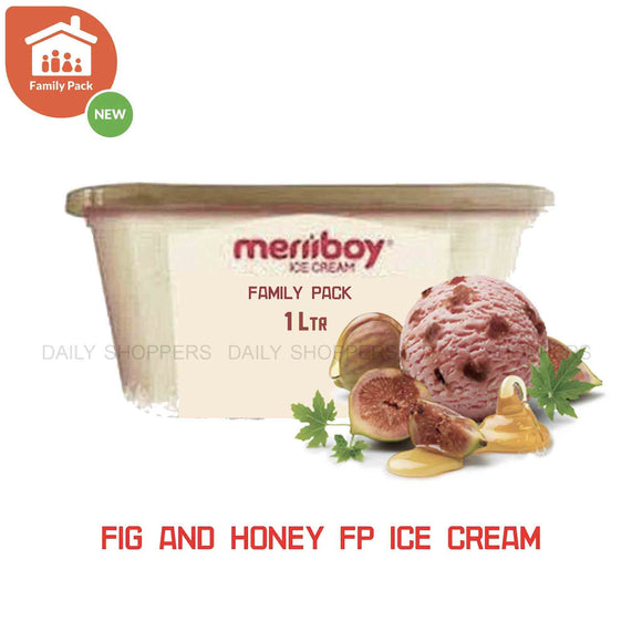 Meriiboy Family Pack Fig & Honey - 1 Ltr