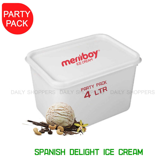 Meriiboy Party Pack Spanish Delight - 4 Ltr
