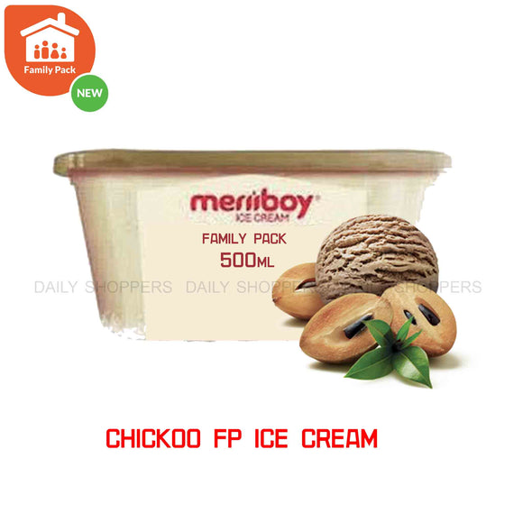 Meriiboy Family Pack Chickoo - 500 ml