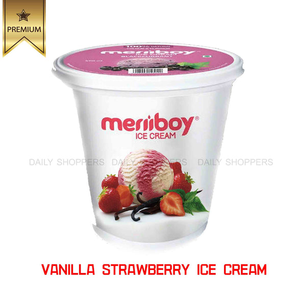 Meriiboy Vanilla Strawberry - 1 Ltr