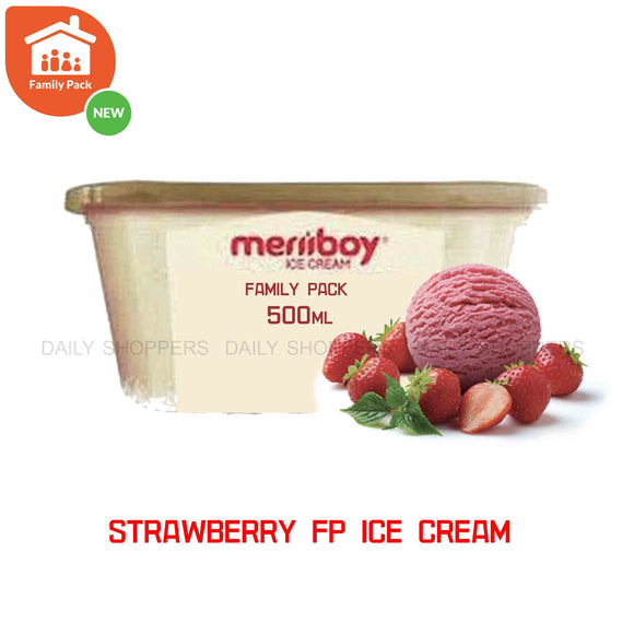 Meriiboy Family Pack Strawberry - 500 ml