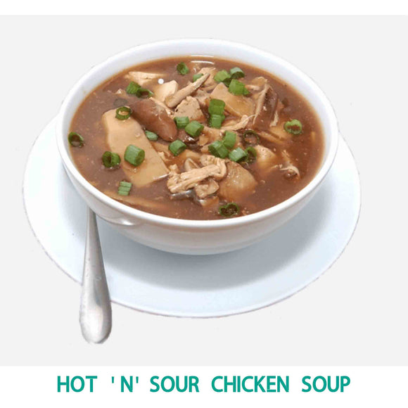 Hot 'n' Sour Chicken Soup