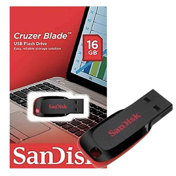 SanDisk 16GB Class 4 Pendrive
