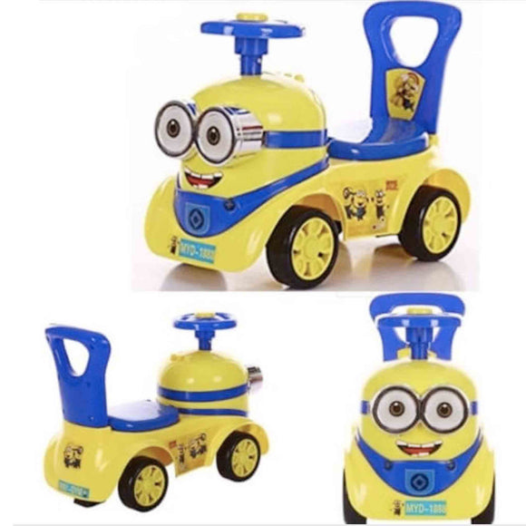 Baybee Minion Stylish Ride-on Car