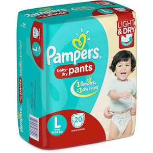 Pampers Baby-Dry Pants - L20