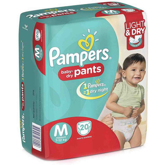 Pampers Baby-Dry Pants - M20